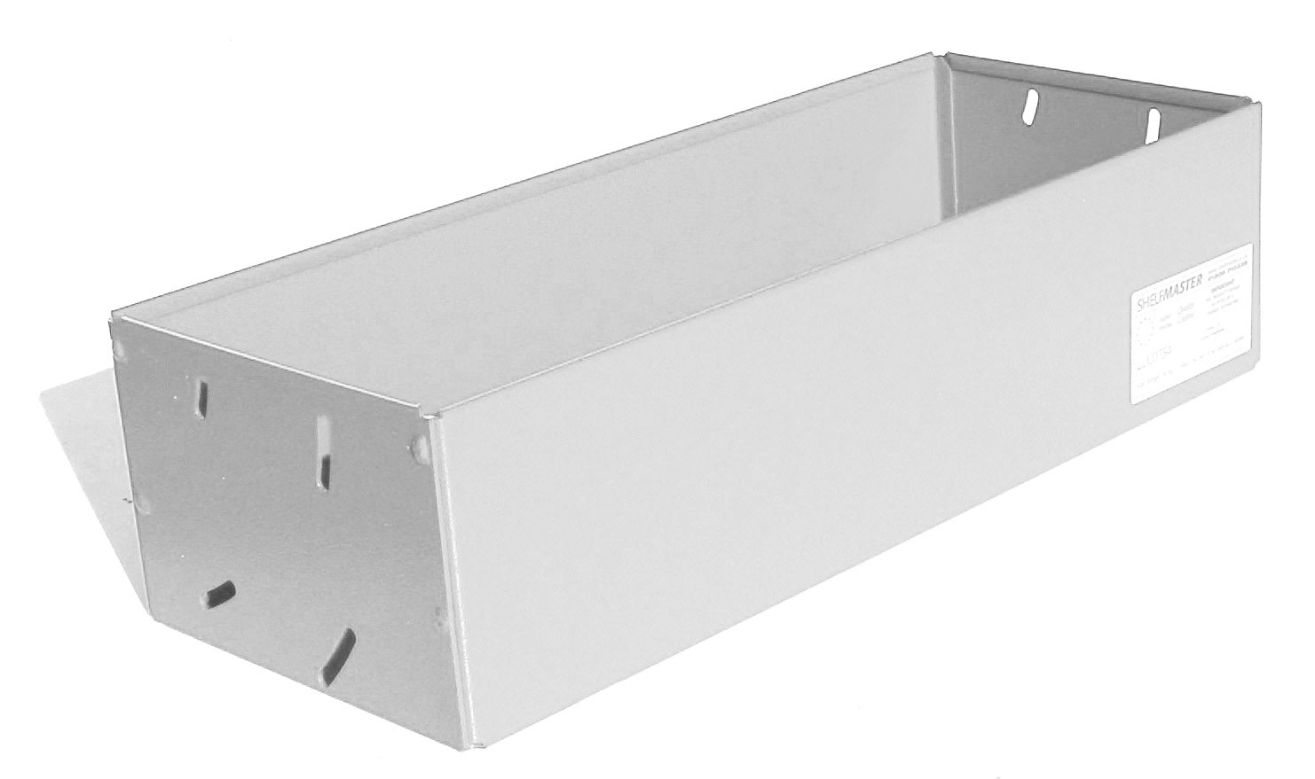 ShelfMaster Box Shelf 125mm x 190mm x 480mm   SMBS190/125