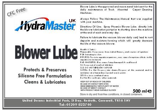 Blower Lube | 087-006
