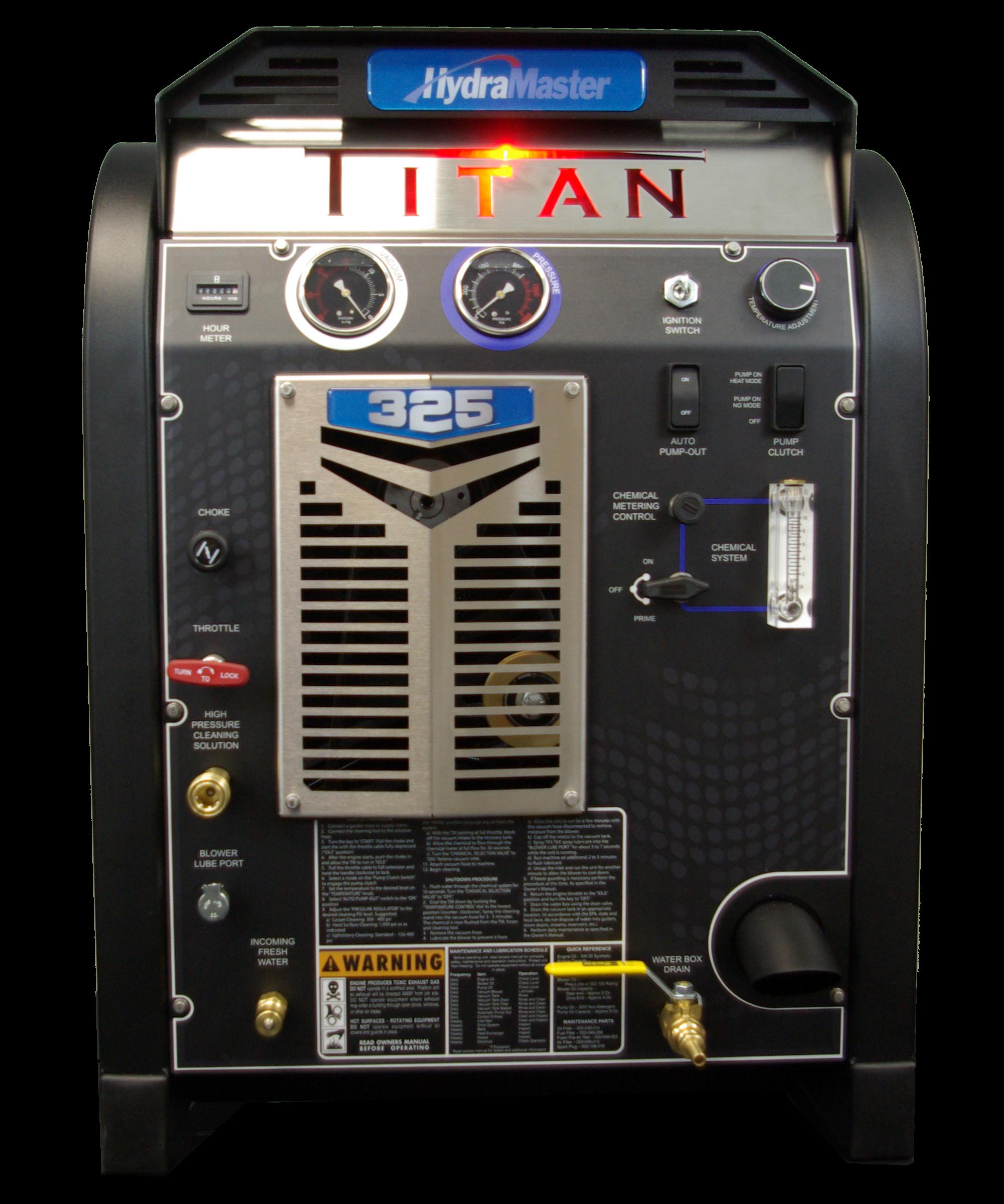 Hydramaster Titan 325