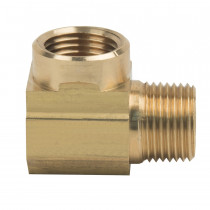 3/8'' Brass Street Elbow | 052-086