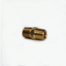 3/8'' Brass Hex Nipple | 052-074
