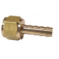 Brass Barb 1/8'' FPT - 6mm Barb | 052-109