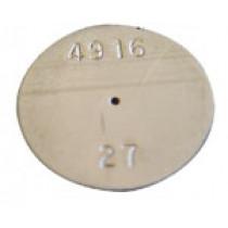 "SS PLATE  Orifice 0.027"" | 180-009"