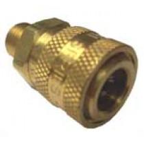 1/4'' Brass Female Flow-Thru Quick Connect | HFBR337
