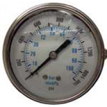PSI Pressue Gauge 0-1500 psi | 074-007