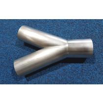 Stainless Steel 2'' Vacuum 'Y' | AX01
